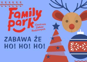 Program animacji gier i zbawaw w Family Park Bydgoszcz w okresie od 26 do 31 grudnia 2017