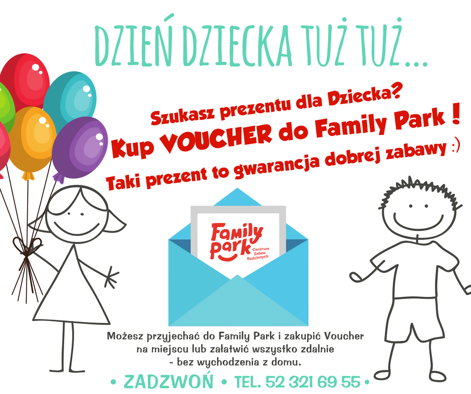 Family Park, voucher na Dzień Dziecka
