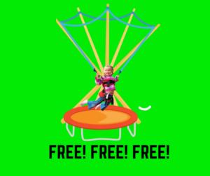 Bezpłatna zabawa na trampolinie w Family Park z okazji Miesiąca Dziecka.