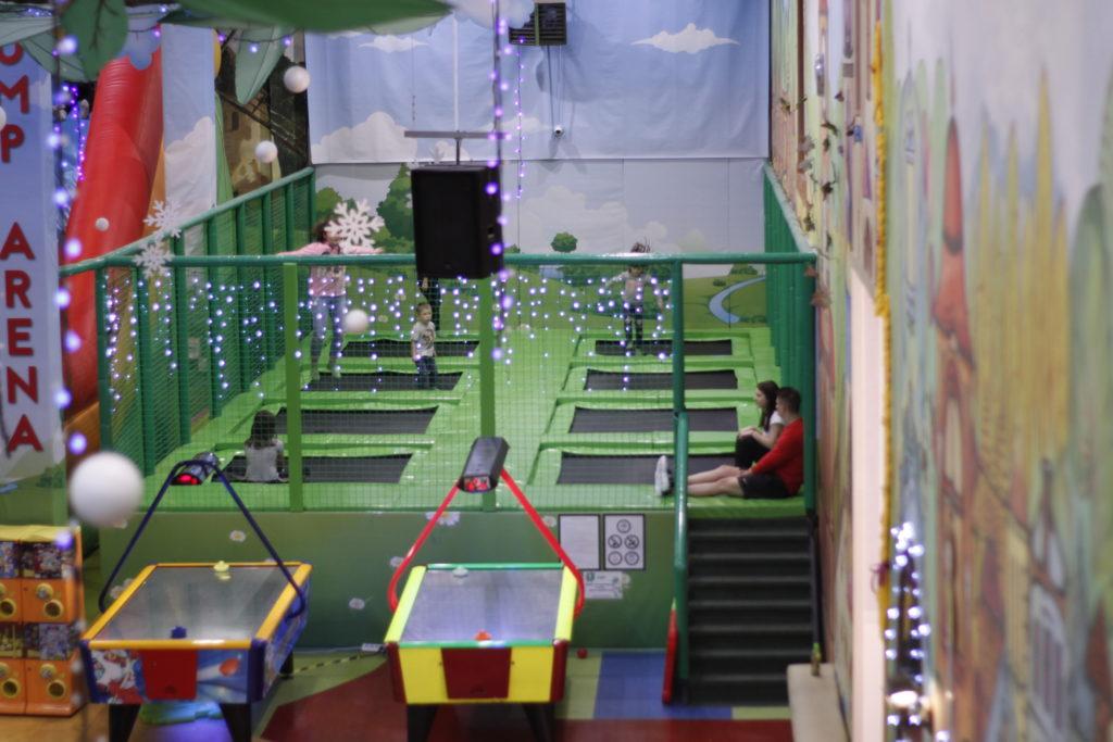 Strefa trampolin Family Park Jump Arena - atrakcja w cenie biletu wstępu