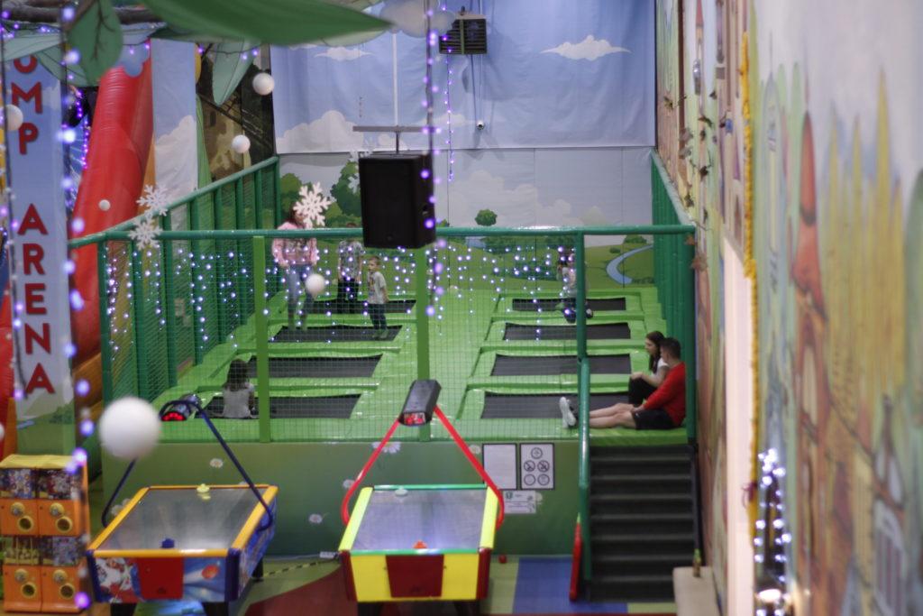 Strefa trampolin Family Park Jump Arena